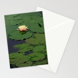Lillypad Flowering Stationery Cards