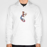 marty mcfly Hoodies featuring Marty by Havard Glenne