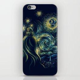 Death Starry Night iPhone Skin