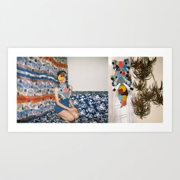 the headthing Art Print