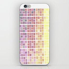 Pencil Mosaic #1 iPhone Skin