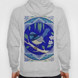 Blue Wren Beauty Hoody
