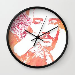 Zayn Malik Watercolor Wall Clock