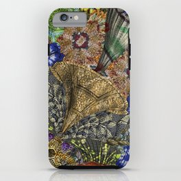 Psychedelic Botanical 4 iPhone Case
