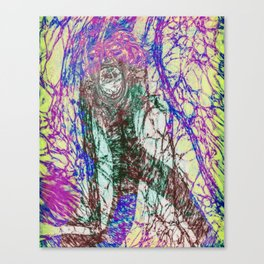 Scream with Me Canvas Print