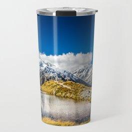 New Zealand Mount Cook Aoraki Travel Mug
