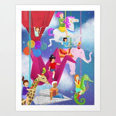 Ode to Childhood Art Print