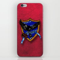 ravenclaw iPhone & iPod Skins featuring Ravenclaw by JanaProject