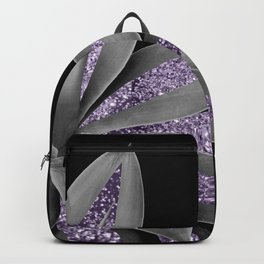 Agave Finesse Glitter Glam #3 #tropical #decor #art #society6 Backpack