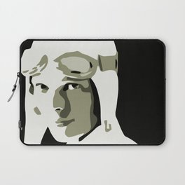 Silhouette vector Art: Amelia Laptop Sleeve