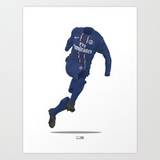 Paris St. Germain (PSG) 2012/13 Art Print