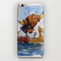 viking iPhone & iPod Skins featuring Viking by Jose Luis Ocana
