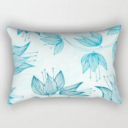 Biru Dream Rectangular Pillow