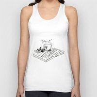 computer Tank Tops featuring Computer Research by Kier-James