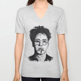 Robert Downey Jr. Unisex V-Neck