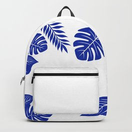 Paradise in cobalt Backpack
