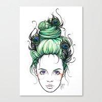 pride Canvas Prints featuring Pride by Nora Bisi