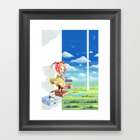 Tower of Wisdom Framed Art Print