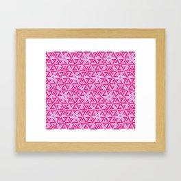 impossible pink Framed Art Print