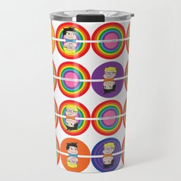 Rainbow Delite Travel Mug