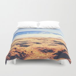 First Day of Summer Duvet Cover