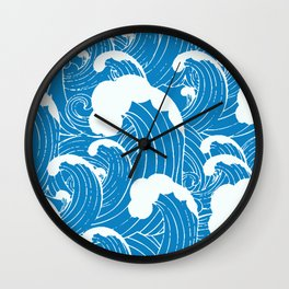 waves after waves Wall Clock