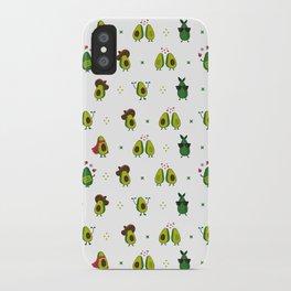 Avocado Pattern iPhone Case