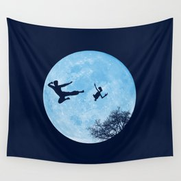 Go Big or Phone Home Wall Tapestry