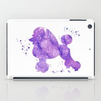 poodle iPad Cases featuring Poodle by Carma Zoe