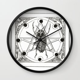 Nocturnal Possessions Wall Clock