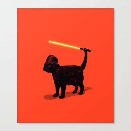 Cat Vader Canvas Print