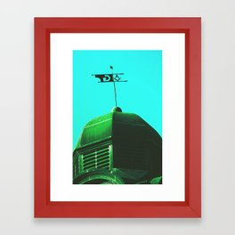 The Green Order Framed Art Print