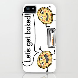 Let's Get Baked! iPhone Case