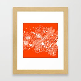 The Dragon Fly Framed Art Print
