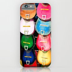 Colorful Wooden Guitars Slim Case iPhone 6s