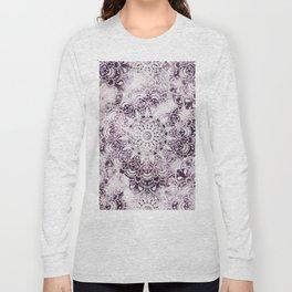 MANDALA WONDERLAND IN PINK Long Sleeve T-shirt
