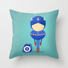 My dreaming hero! Throw Pillow