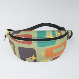 Retro Mid Century Modern Abstract Pattern 225 Fanny Pack