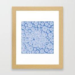 Dandelion dreams Framed Art Print