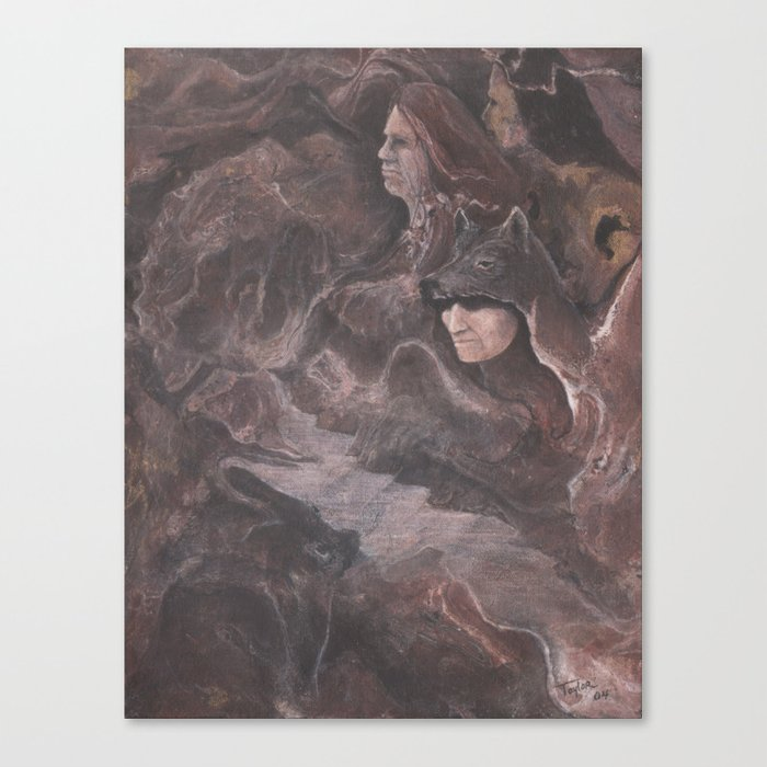 Early Morning Hunters Canvas Print