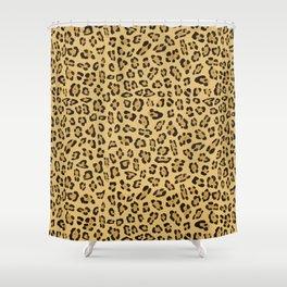 Jaguar pattern Shower Curtain