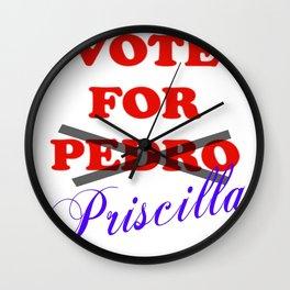 Vote for Priscilla Wall Clock