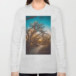 Illuminated New Mexican Trail Long Sleeve T-shirt