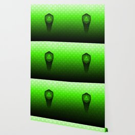 D20 All I Do Is Crit!  Green Ombre Wallpaper