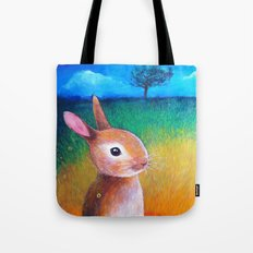 tree and field2 Tote Bag