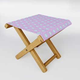 Honeycomb Lilac Folding Stool