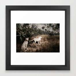 Wild Beasts Framed Art Print