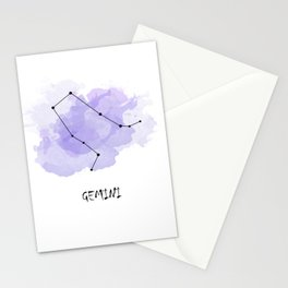 Gemini - air element Stationery Cards