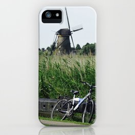 Holland,Kinderdijk iPhone Case