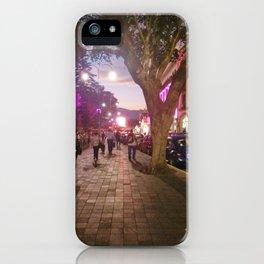 Parque Juarez iPhone Case